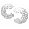 Bead Crimp Cover Stardust 4mm Silver